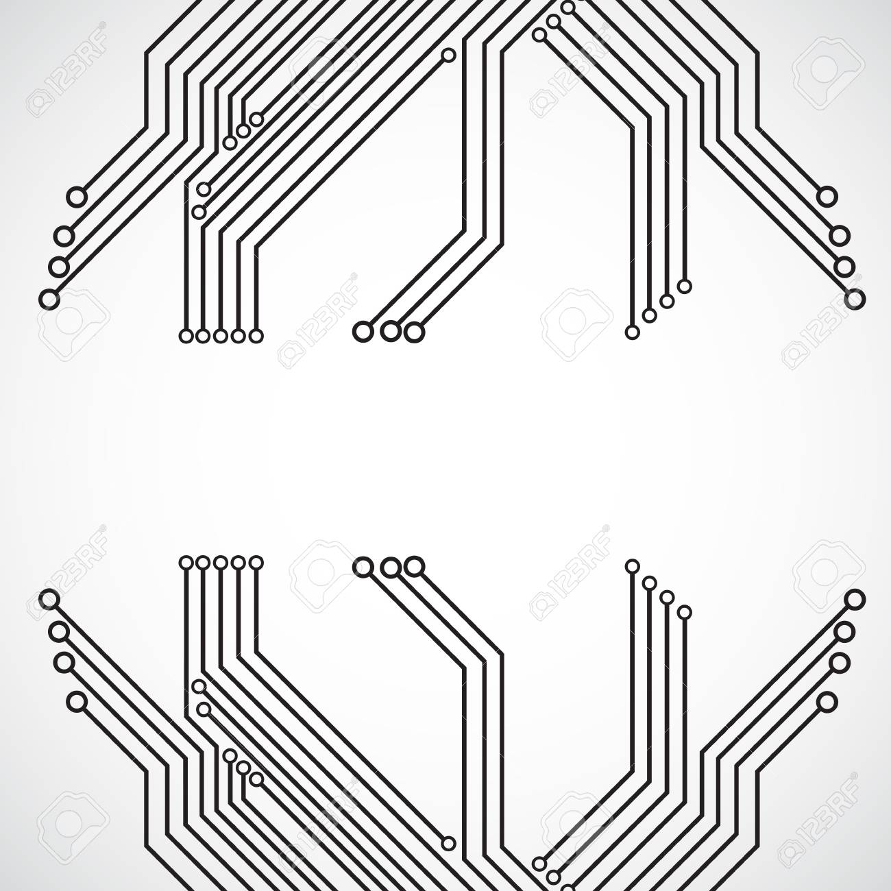 Circuit board background royalty free cliparts vectors and stock