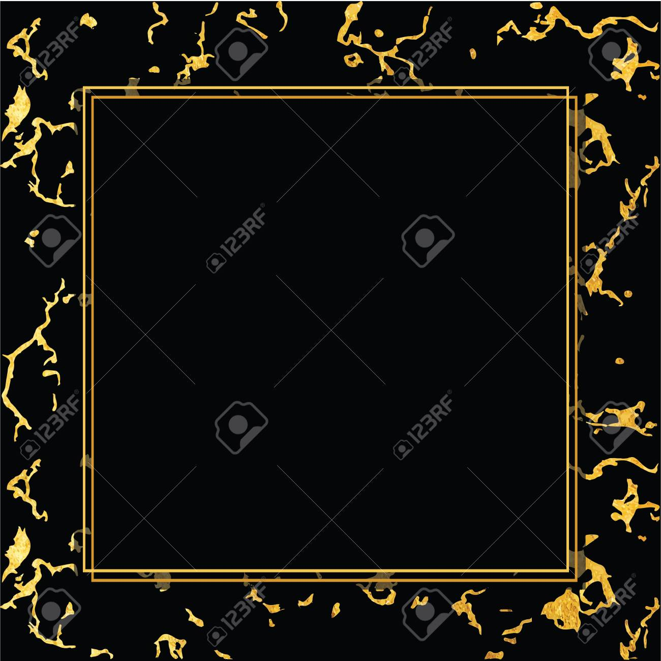 vector holiday background marble gold and black texture trendy