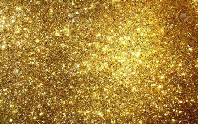 Golden Shimmer And Glitter Background Gold Wallpaper Stock Photo 93007331