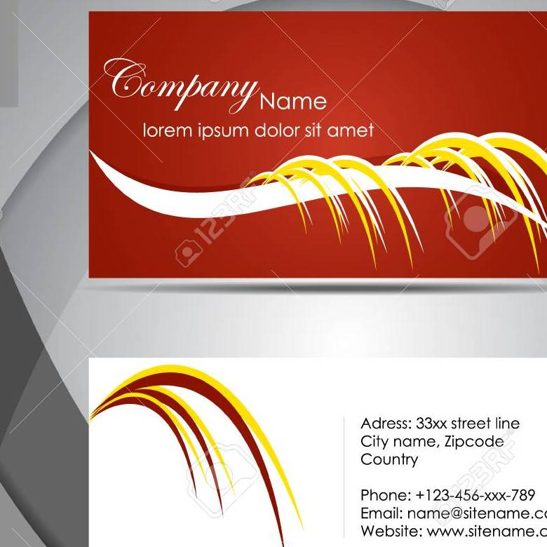 Grabs Full Pixels » Abstract Professional Business Card Template Or Visiting Card     Abstract professional business card template or visiting card set Stock  Vector   26771025