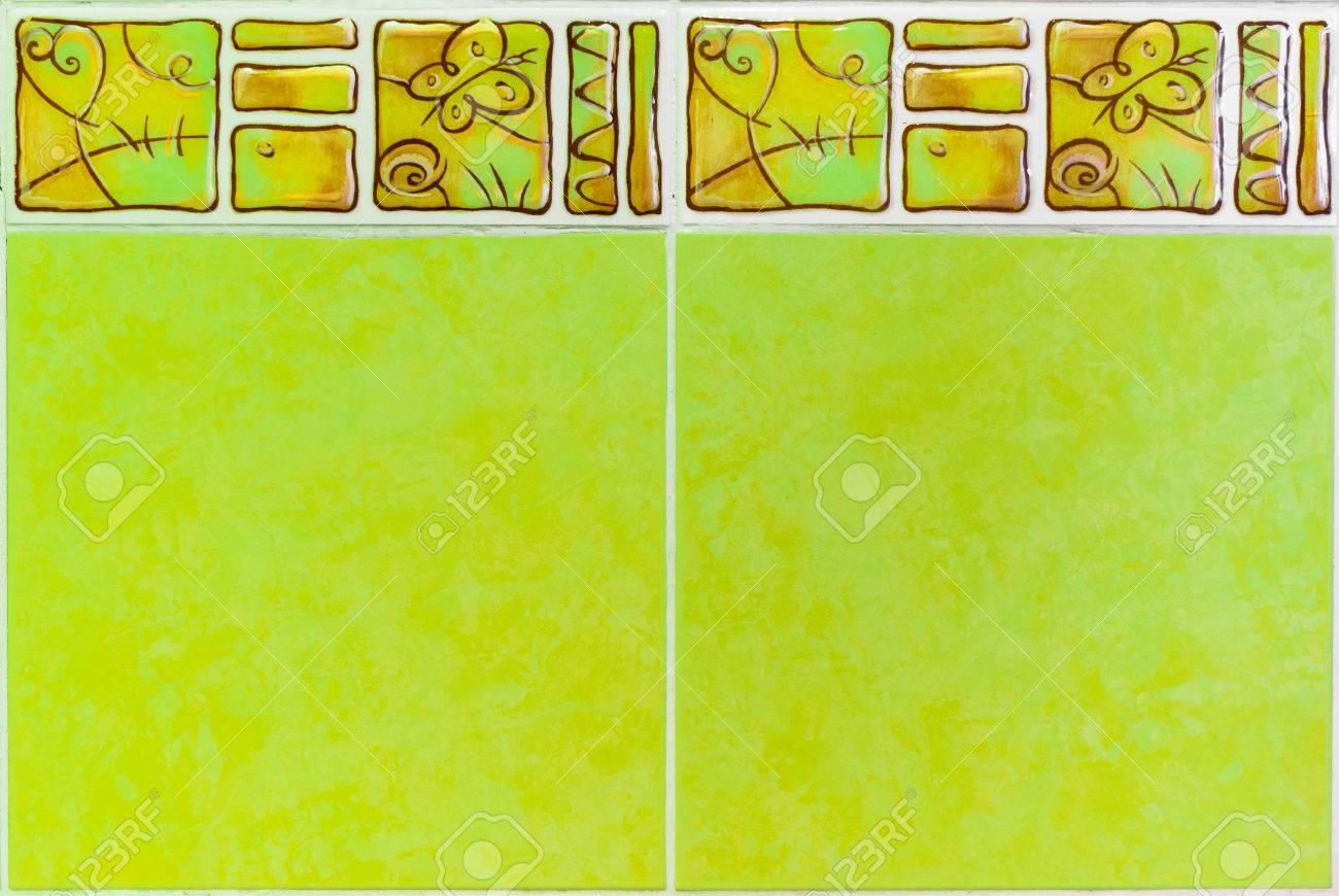 https fr 123rf com photo 66062133 int c3 a9rieur ou cuisine carrelage mural en c c3 a9ramique carrelage d c3 a9coratif bordure image de la paroi int c3 a9rieure o html