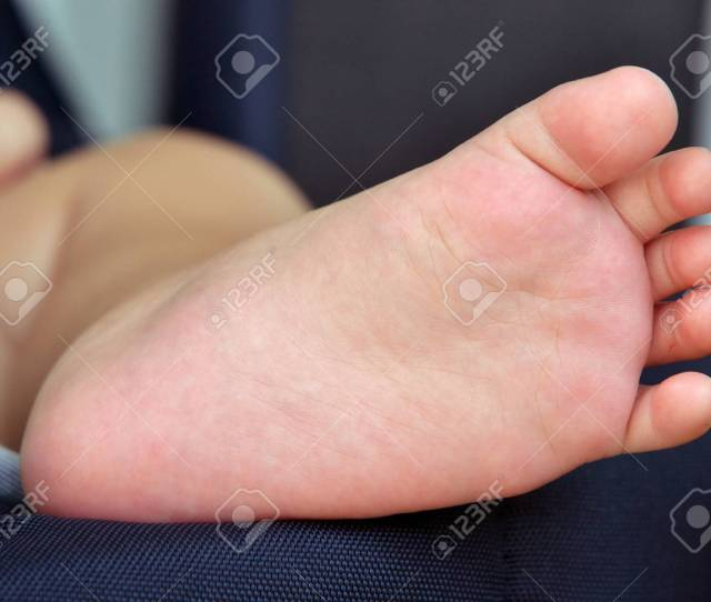 Little Boys Feet Stock Photo 74256890