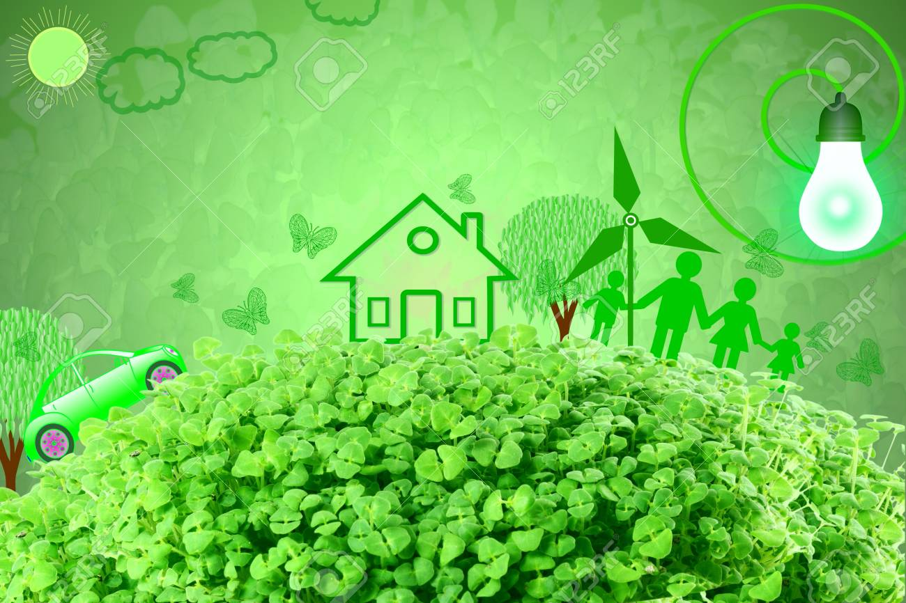 Live Green Think Green Love Green Go Green Concept Abstract Nature Stock Photo Picture And Royalty Free Image Image 76941916