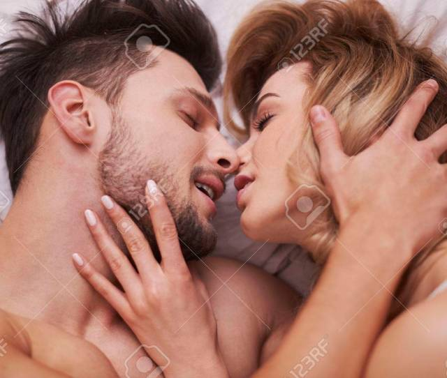 Stock Photo The Foreplay Of Passionate Couple