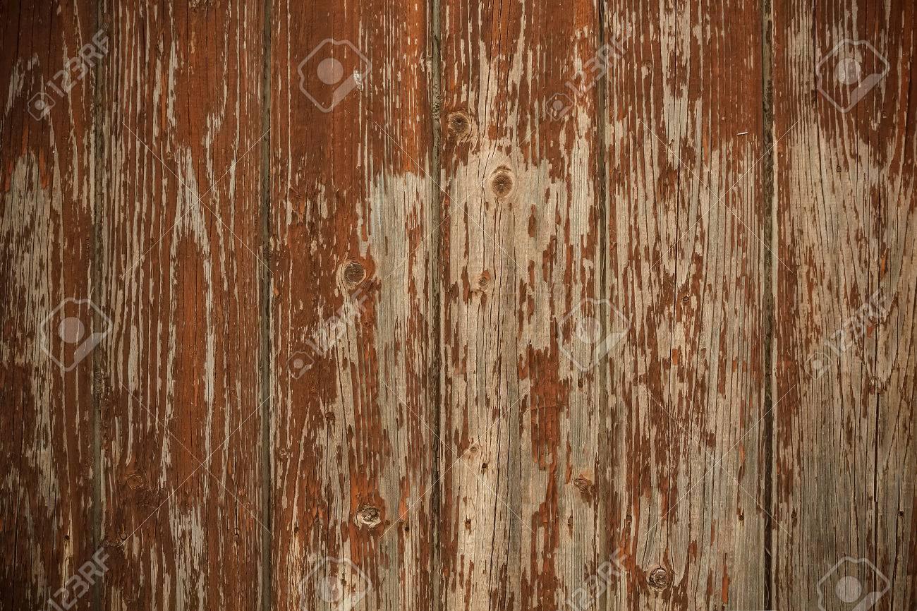 vieille cloture en bois use avec de la peinture marron ebreche banque d images et photos libres de droits image 23557274