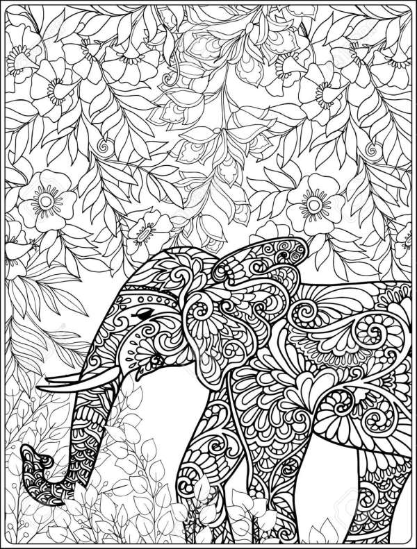 forest coloring page # 46