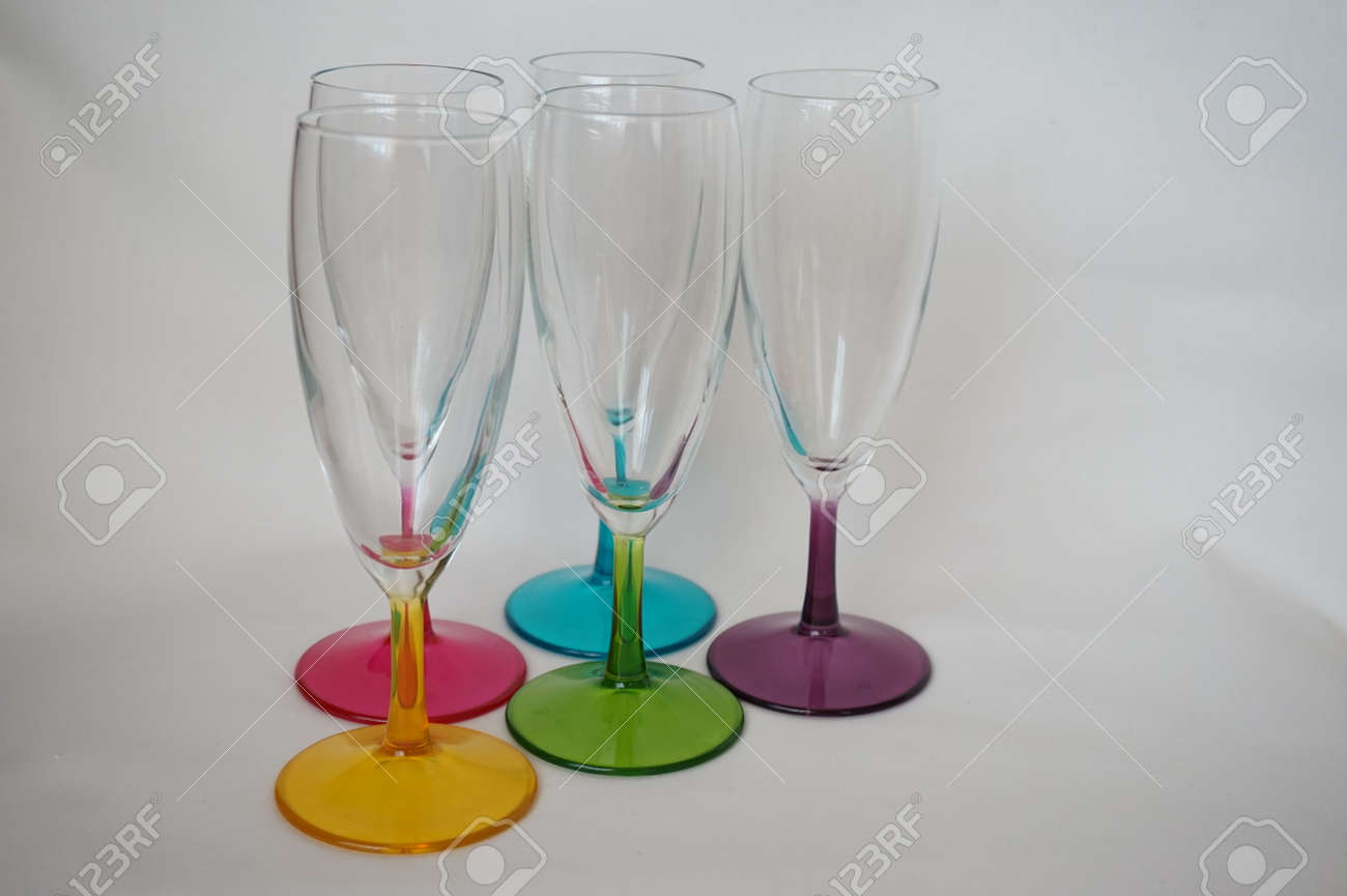 Unusual Wine Glasses Stock Photo Picture And Royalty Free Image Image 101074505