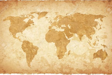 Vintage map background path decorations pictures full path world map vintage artwork perfect background with space for text or image old vintage map background stock photo picture and royalty free old vintage gumiabroncs Choice Image