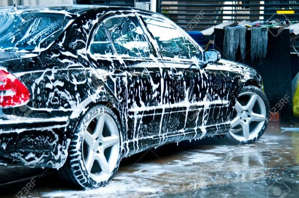 Image result for wash black car