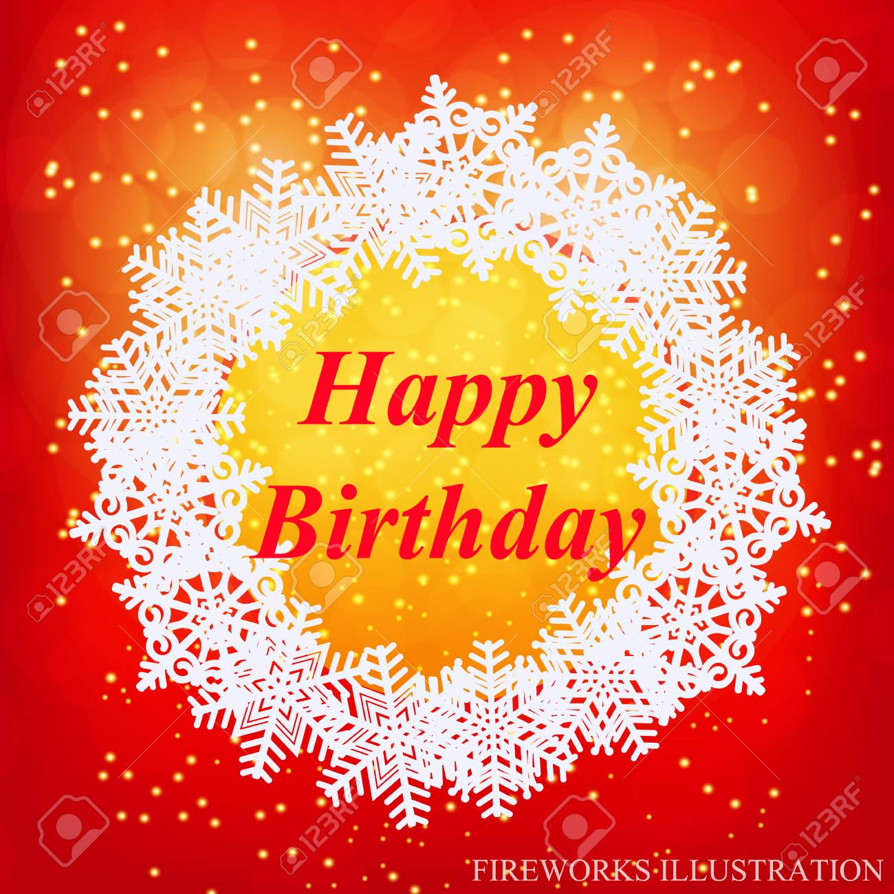 Happy Birthday Greeting Card New Year Template Brightly Colorful Royalty Free Cliparts Vectors And Stock Illustration Image 92406418