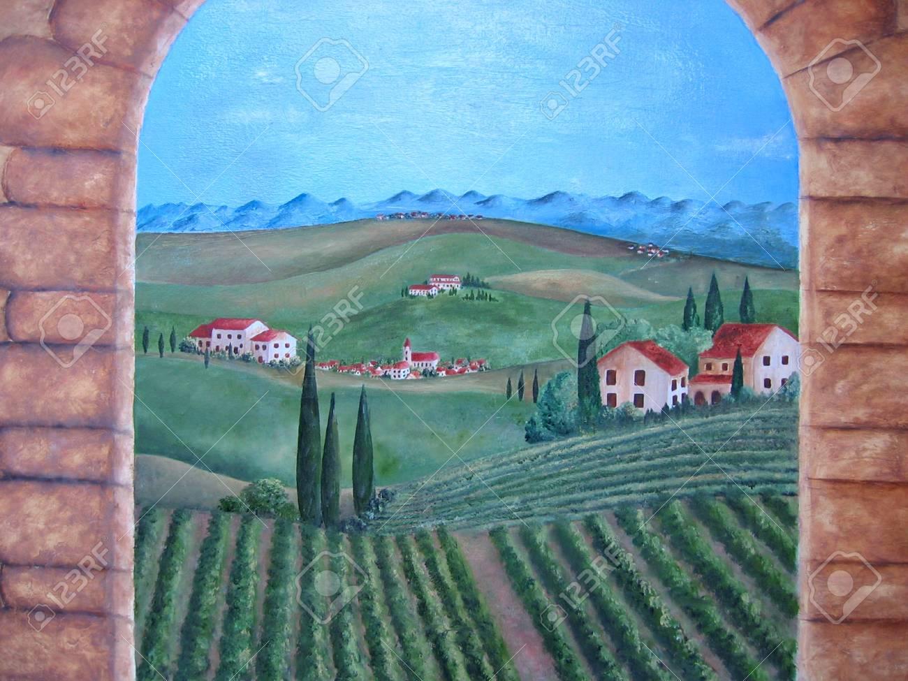 Stefano Martelli Maler Kunstler Italien In Seinem Atelier Im