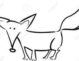 Imagenes De Un Zorro Animado Para Dibujar On Log Wall