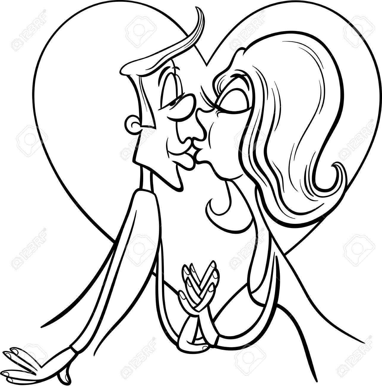 Dibujos Animados Para Dibujar De Amor On Log Wall