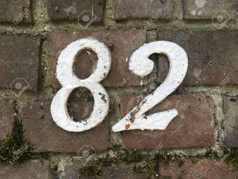 Image result for number 82