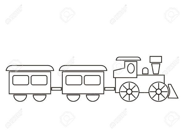 train coloring # 30