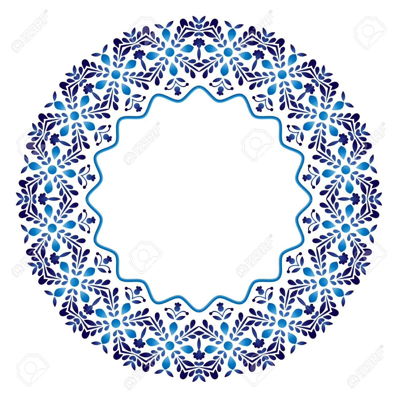 decorative round ornament ceramic tile pattern pattern for