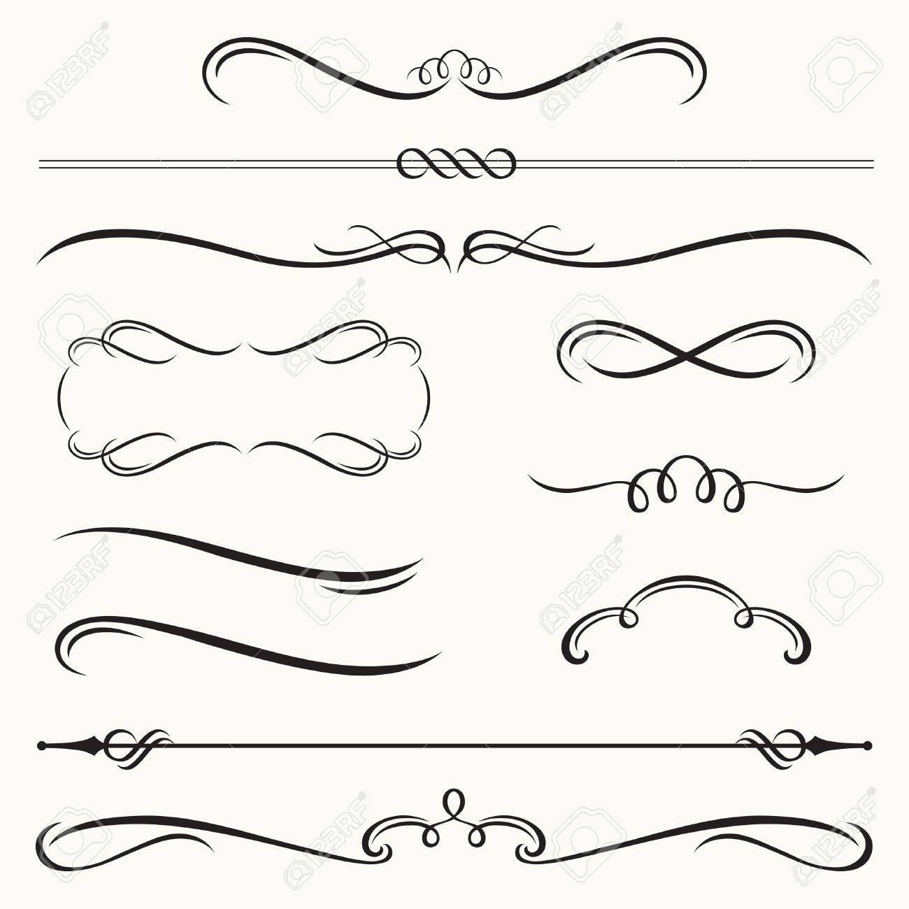 Illustration De Bordure Decorative Et Jeu De Cadres Clip Art Libres De Droits Vecteurs Et Illustration Image 21746065