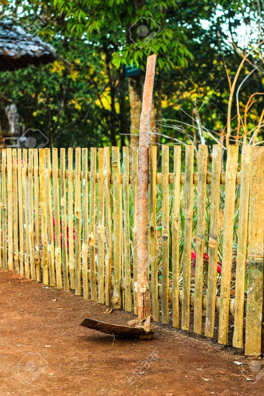 cloture de bambou