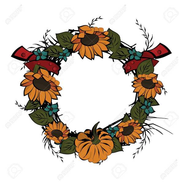 wreath template free # 26