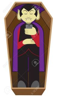 Image result for lying in a coffin