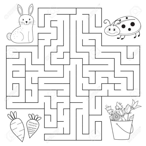 maze coloring pages # 8