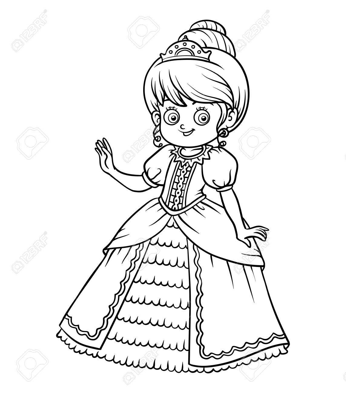 Dibujos Para Ninos Para Colorear De Princesas Dibujos Para