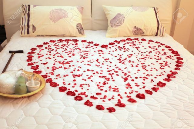 Image result for bed with roses