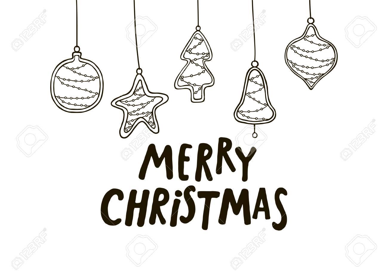 joyeux noel carte de voeux noir et blanc avec des flocons de sapin en bois nouvelle conception de l 39 arbre de noel modele de carte de voeux
