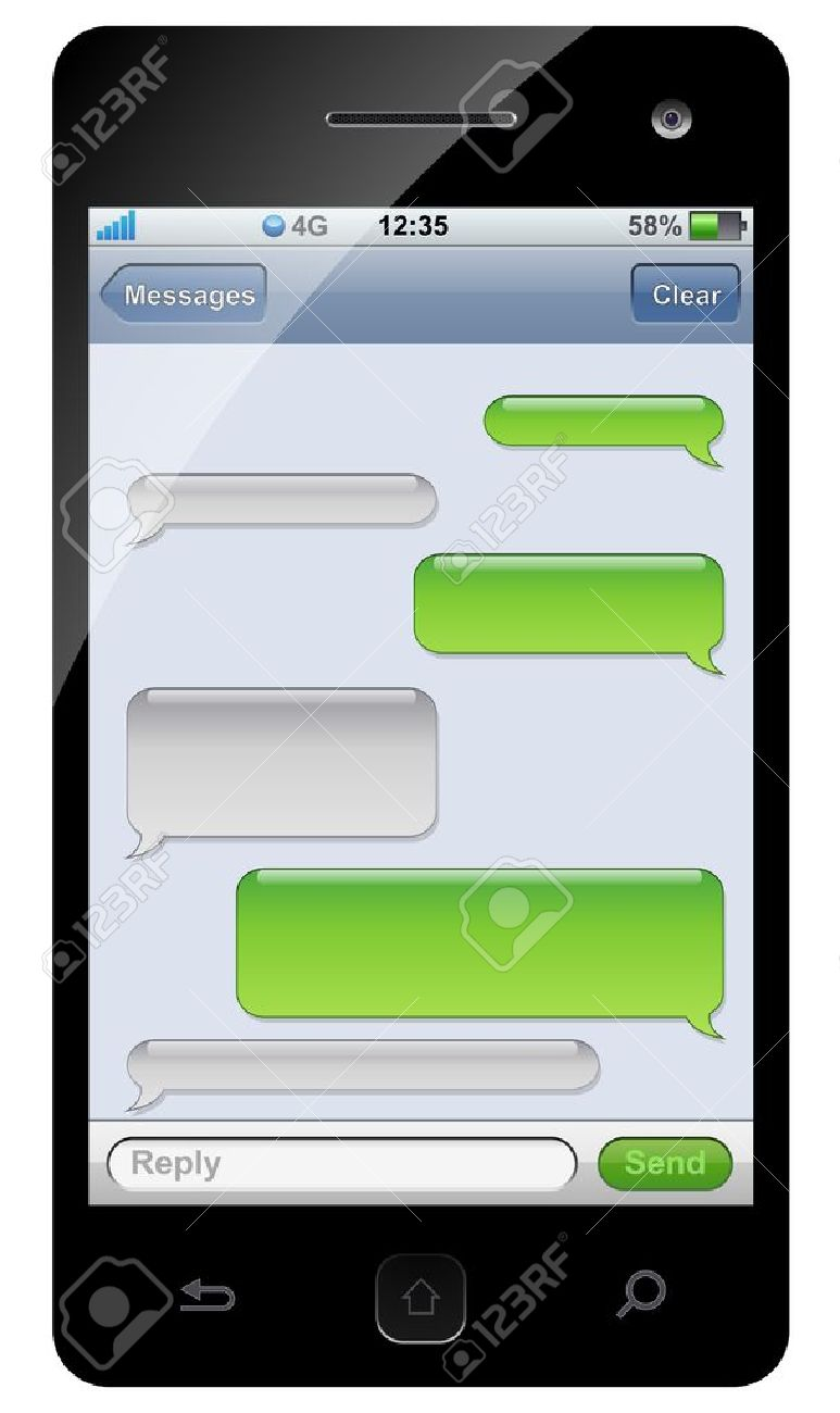 Descargar Epub Text Message Template  Best Photos Of Blank