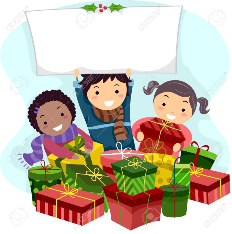 kids opening christmas gifts | Creativepoem.co