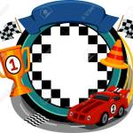 Frame Illustration Featuring Car Racing Items Royalty Free Cliparts Vectors And Stock Illustration Image 32405867
