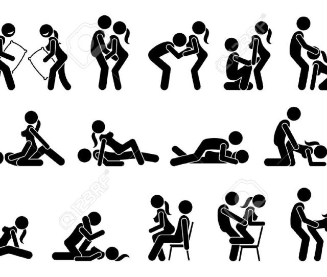 Sexual Positions Kama Sutra Or Kamasutra And Erotic Foreplay Stock Vector 70930573