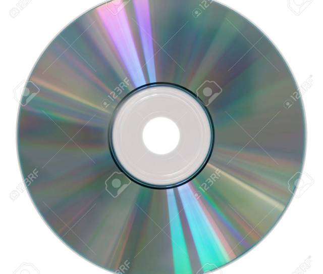 Photography Of A Isolated Cd Rom Stock Photo 10416739