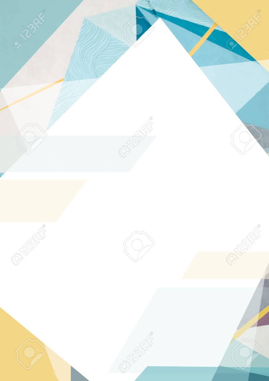 geometric design background template with clean and modern pattern