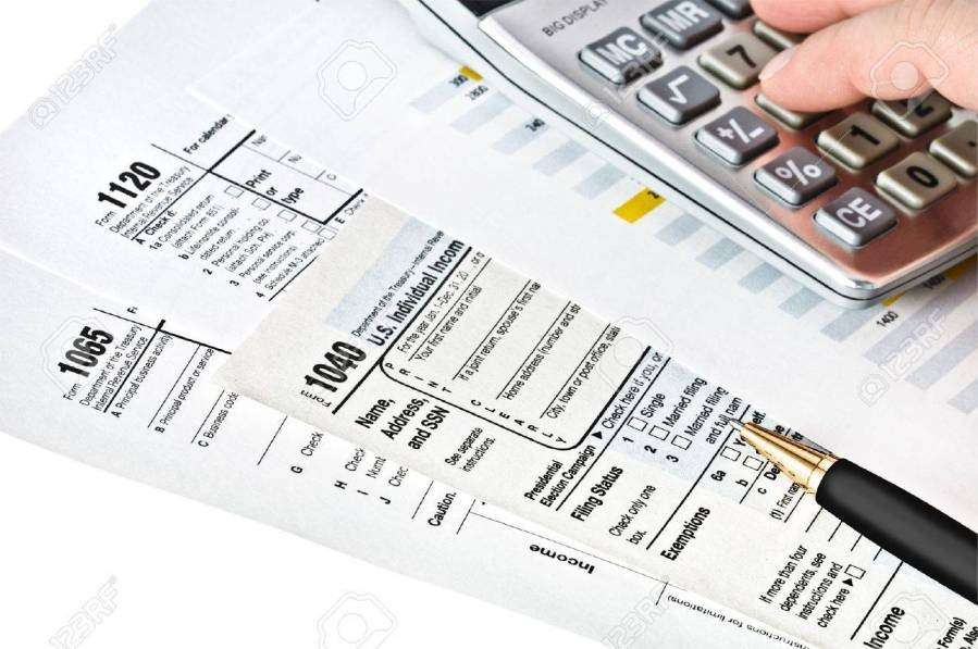 Tax Forms 1040 1065 1120 U S Income Tax Return Stock Photo  Picture     Stock Photo   Tax forms 1040 1065 1120 U S Income Tax Return