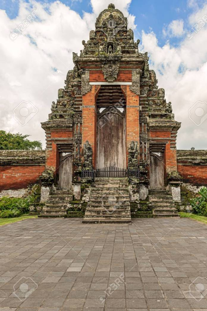 Pura Taman Ayun Temple Is In The Village Of Mengwi Badung On Stock Photo Picture And Royalty Free Image Image 105201414