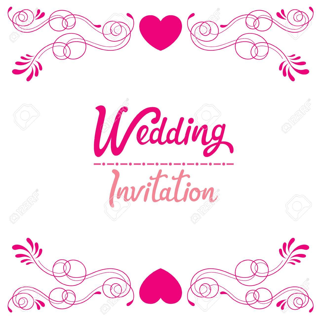 carte d invitation de mariage amour relation floral fiancailles saint valentin