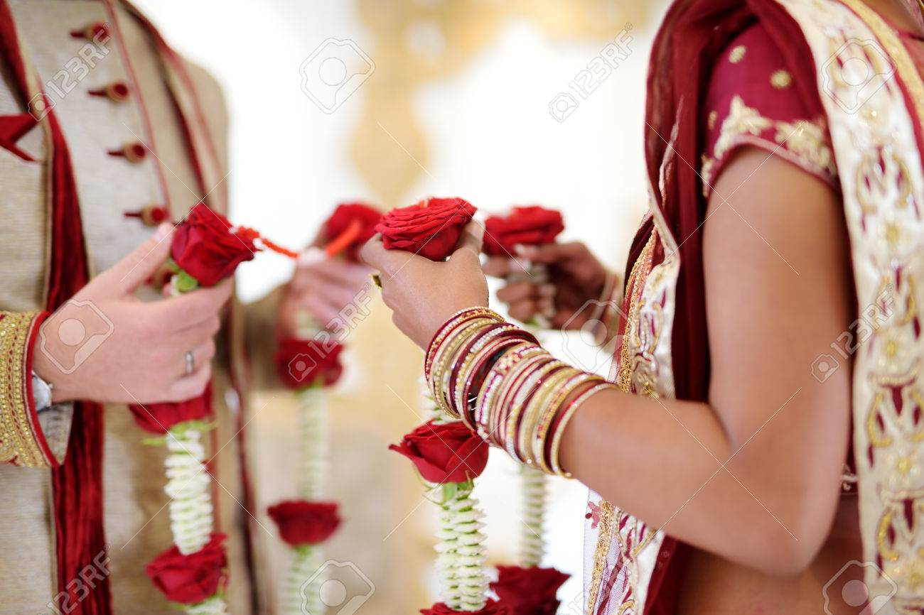 Amazing Hindu Wedding Ceremony Details Of Traditional Indian Stock Photo Picture And Royalty Free Image Image 64696027