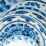 Alte Niederlandische Porzellan Blau Und Weiss Geschirr Aus Delft Lizenzfreie Fotos Bilder Und Stock Fotografie Image 18033071