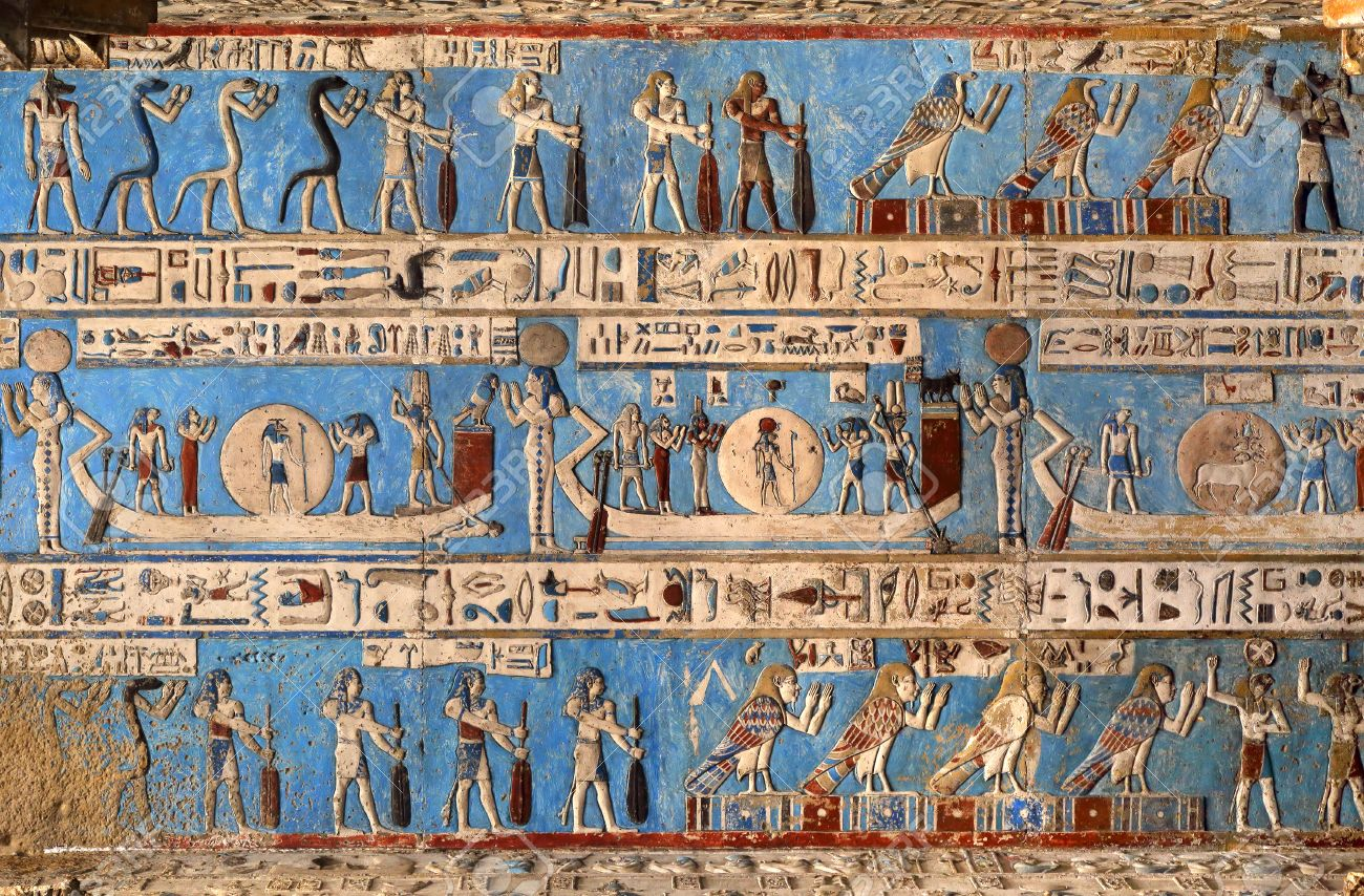 Agyptische Malerei