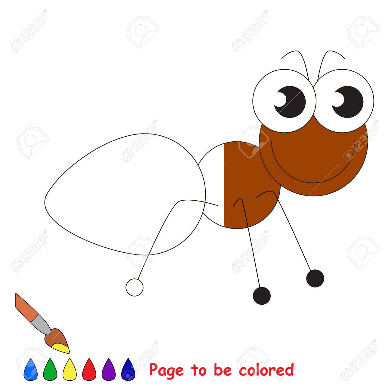 Animales Para Colorear Hormiga Imágenes De Hormigas Para Colorear