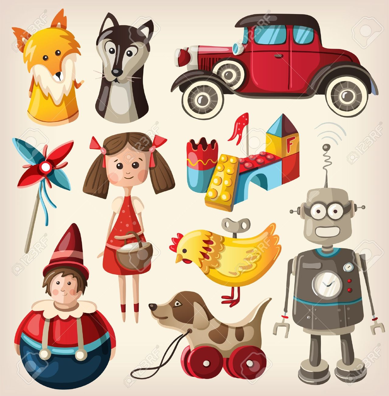Resultado de imagen para viejos juguetes de navidad
