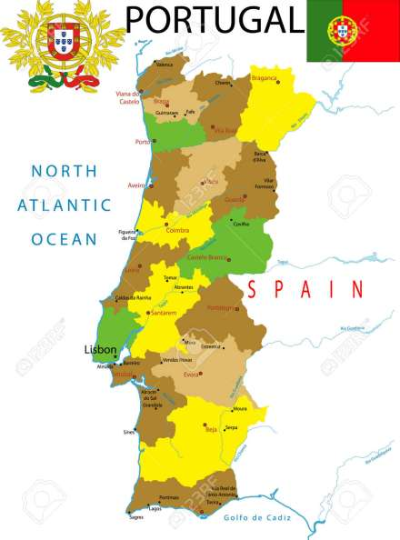 Image result for free map portugal