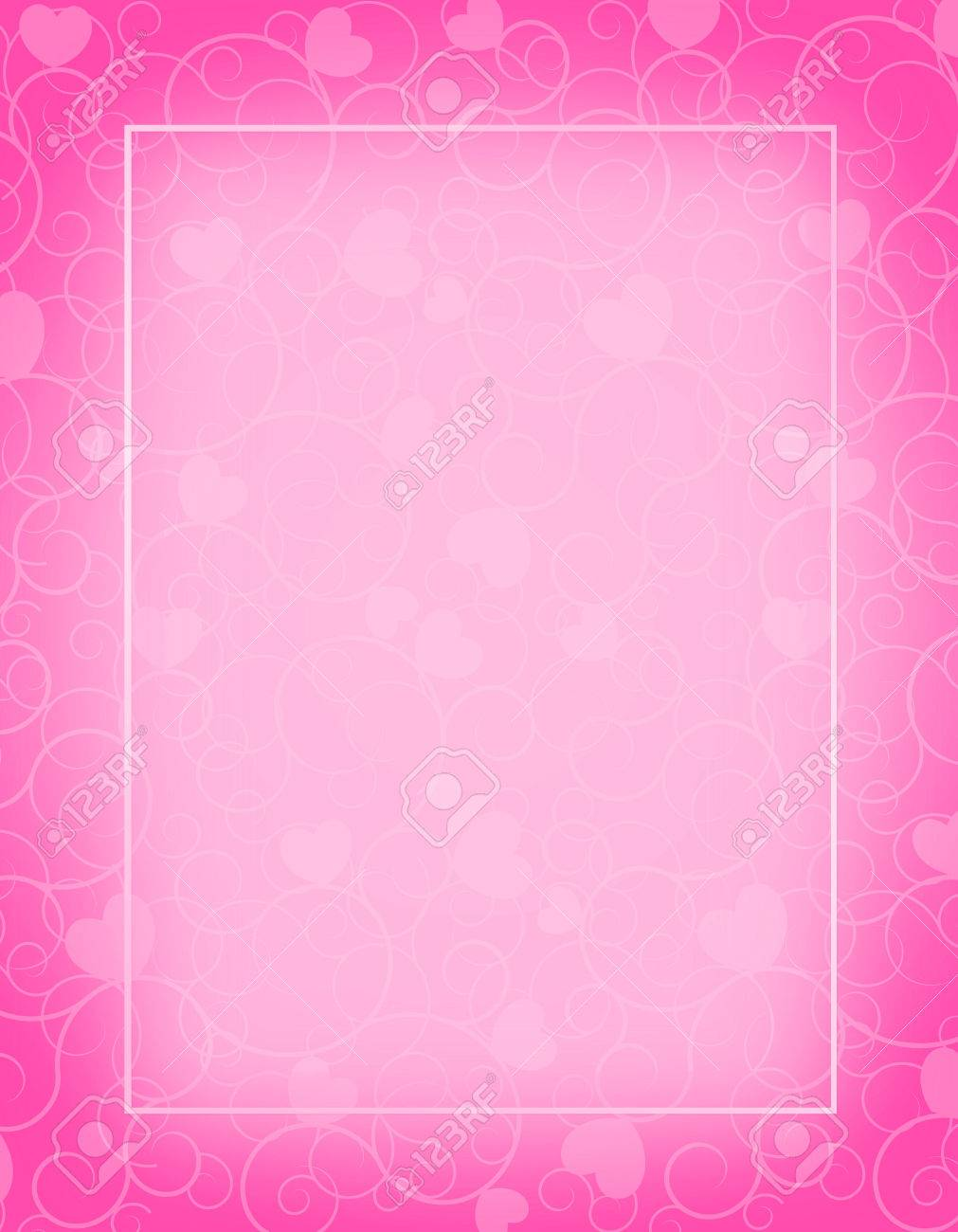 cute pink color blank empty background perfect as stylish