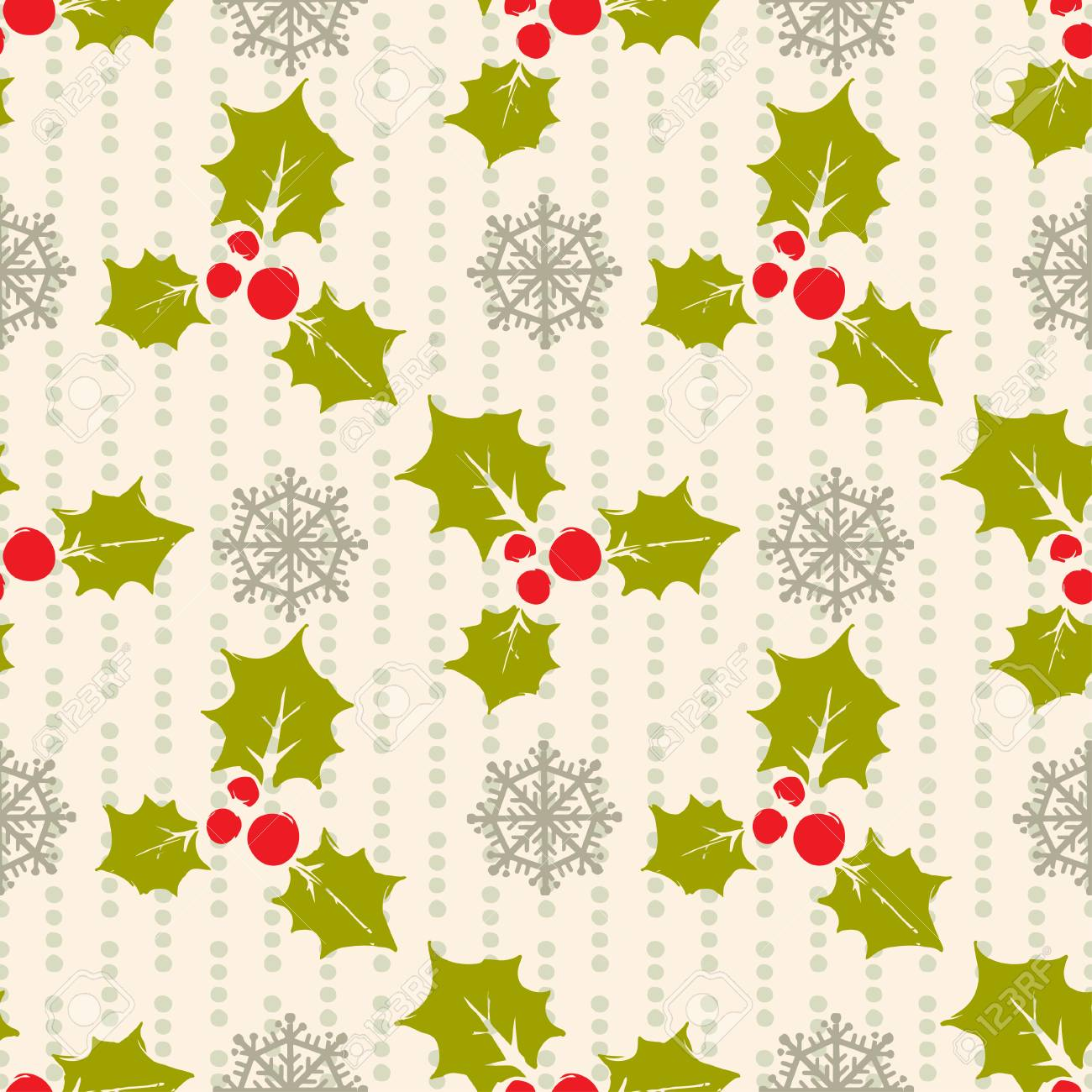 Holidays Vintage Christmas Seamless Pattern Abstract Silhouette Royalty Free Cliparts Vectors And Stock Illustration Image 96964531