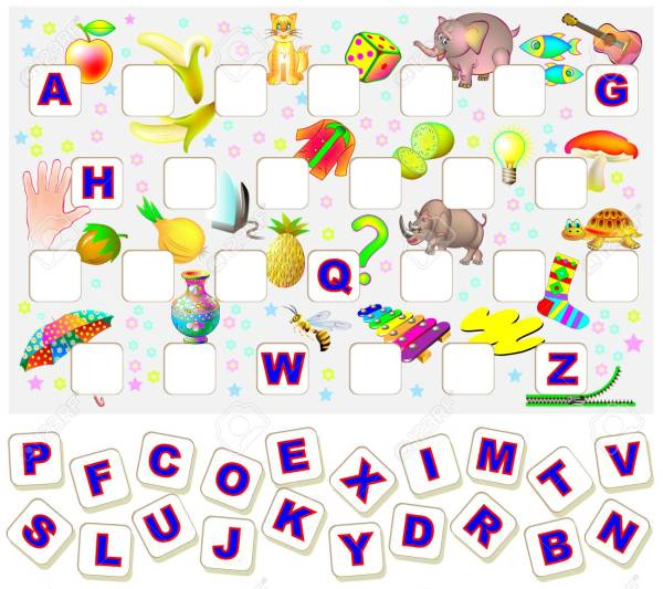 find the alphabet # 63