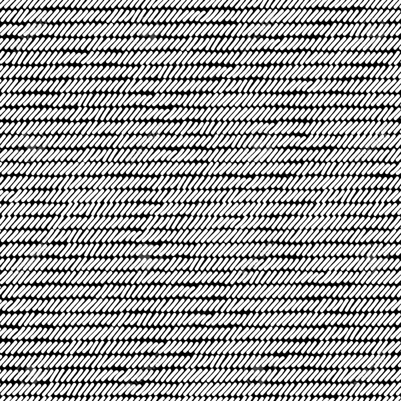 Black And White Rug Woven Striped Fabric Seamless Pattern Vector Royalty Free Cliparts Vectors And Stock Illustration Image 85774443