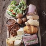 Traditional Ploughmans Lunch Platter Stock Photo Picture And Royalty Free Image Image 48796488