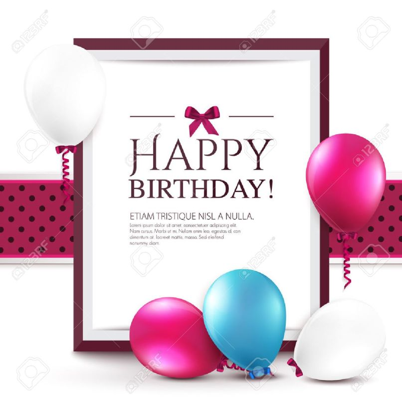 birthday greetings with photo frames frameswalls org