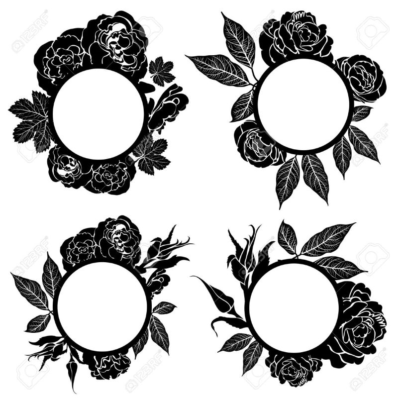 Black Vintage Picture Frames Choice Image - origami instructions ...